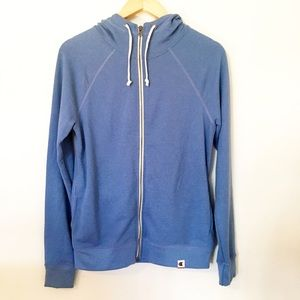 Champion full-zip hoodie.    (size: medium)